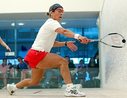 US Squash board chair Jeanne Blasberg