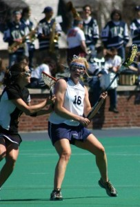 Lauren Taylor of Yale evades a Princeton pursuit in 2005. Now Princeton's in the playoffs and Taylor is making her picks.